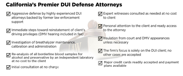 California Law Firm of Taylor & Taylor DUI Defense Attorneys