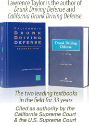 Drunk driving defense books